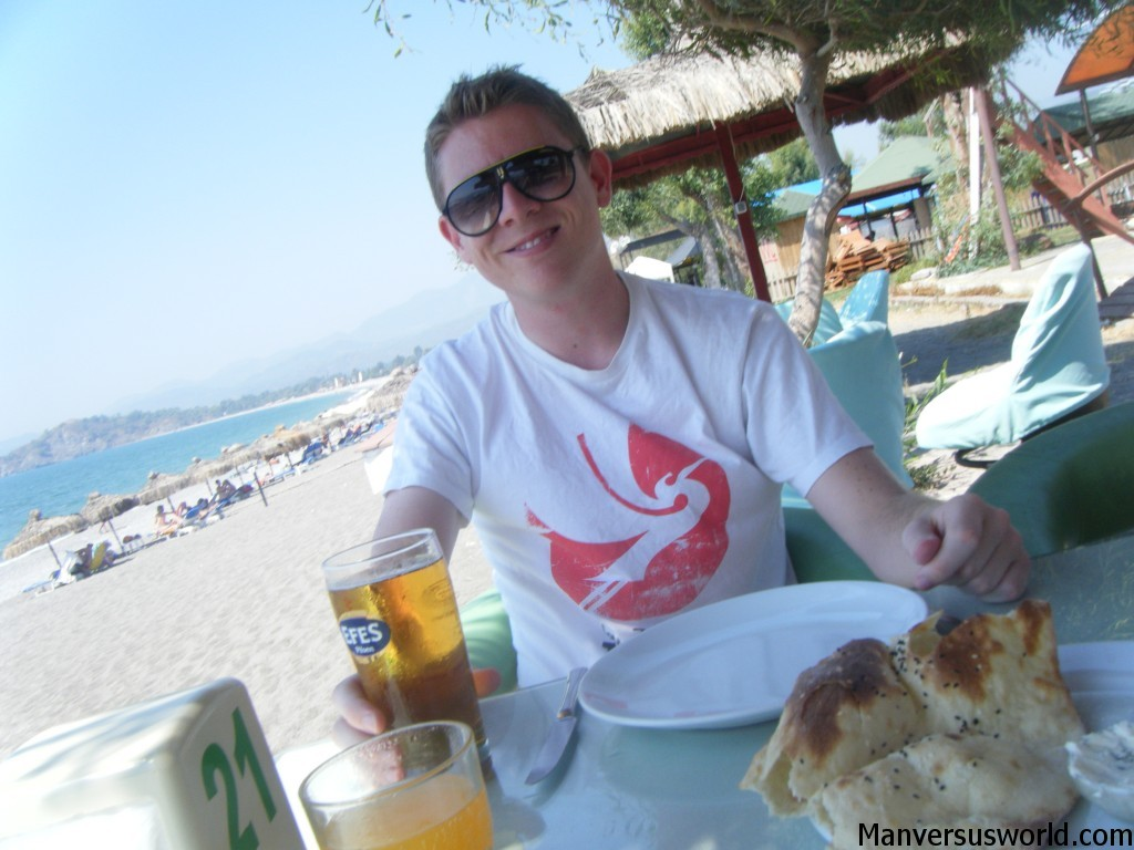 Lunch in Dalaman, Turkey