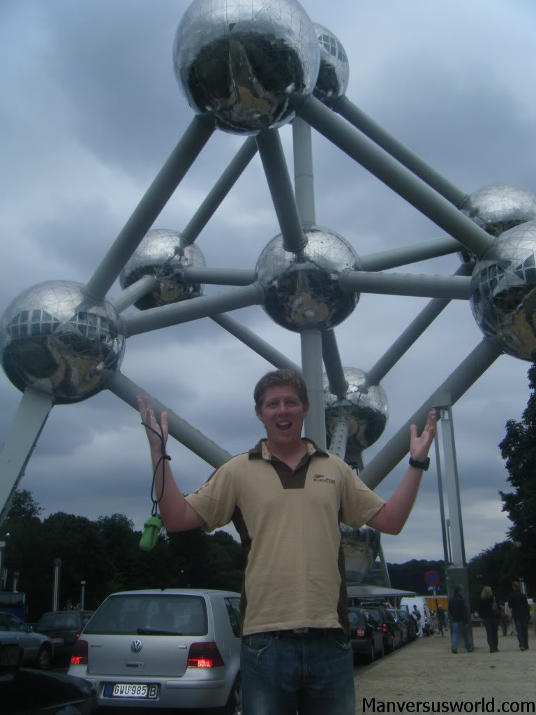 The Atomium in Brussels, Belgium