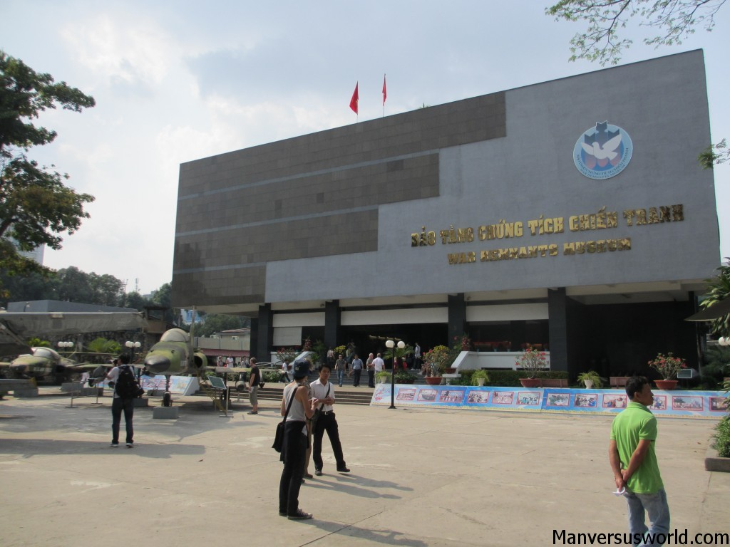 The War Remnants Museum in Ho Chi Minh, Vietnam