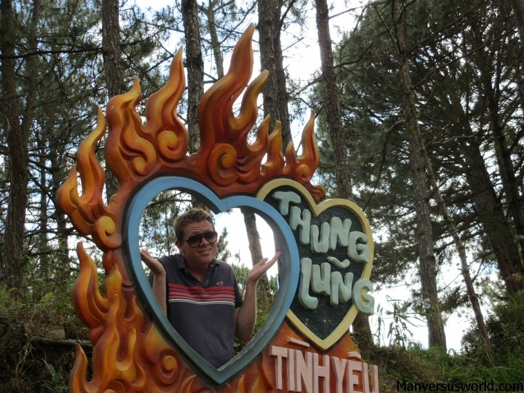 Me at the Valley of Love in Dalat, Vietnam.