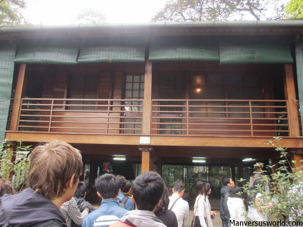 Ho Chi Minh's house on stilts in Hanoi, Vietnam