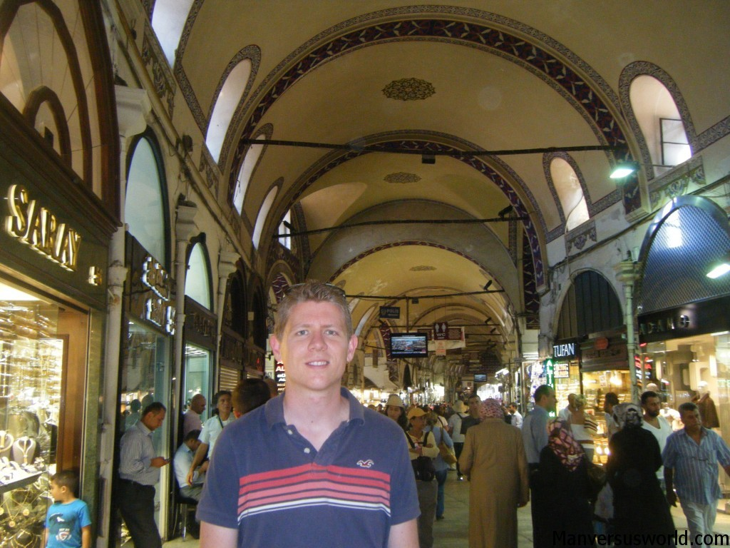Me at the Grand Bazaar in Istanbul, Turkey.