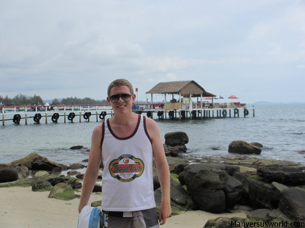 Me at Seredipity Beach, Sihanoukville, Cambodia
