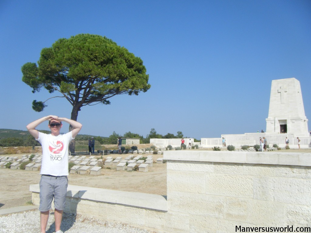 Lone Pine, the Australian war memorial at Gallipoli