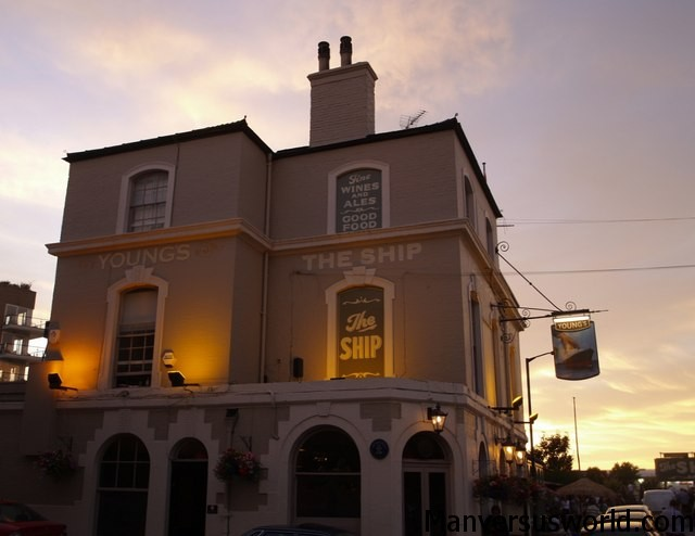 The Ship in Wandsworth is among the best of London's riverside pubs