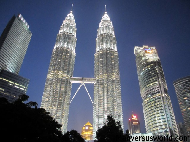 For the best view of the Petronas Towers...