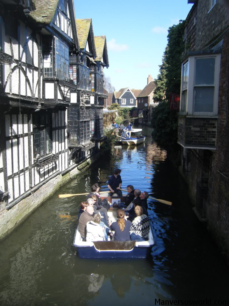 Canterbury by historic boat tour