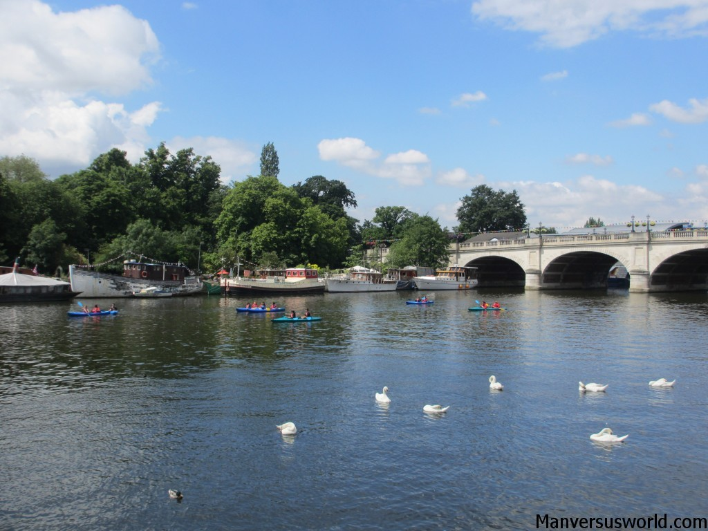 A lovely summer's day in Kingston, London