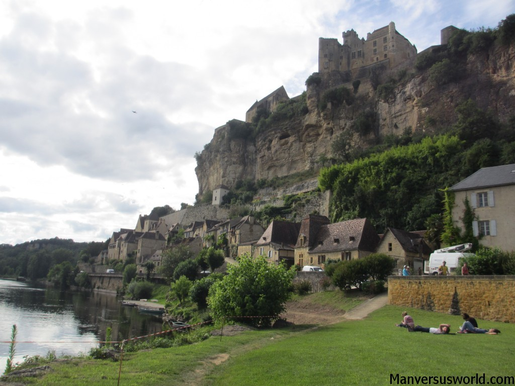 Chateau de Beynac, an impressive French castle in Beynac-et-Cazenac