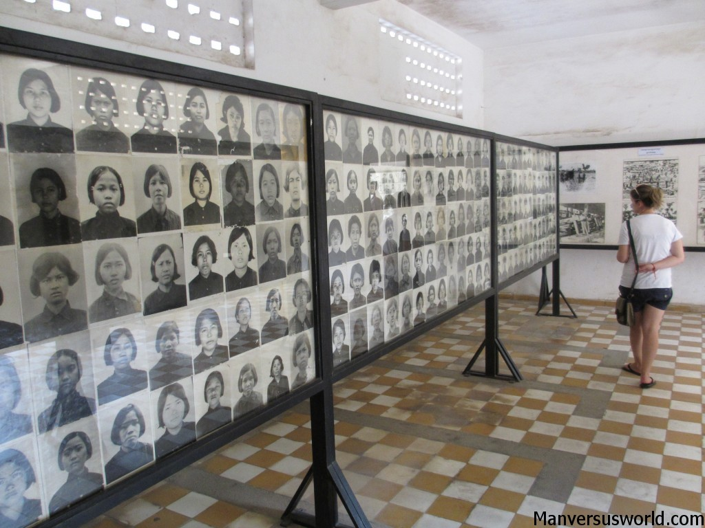 Horrific: the portraits of S-21's many victims