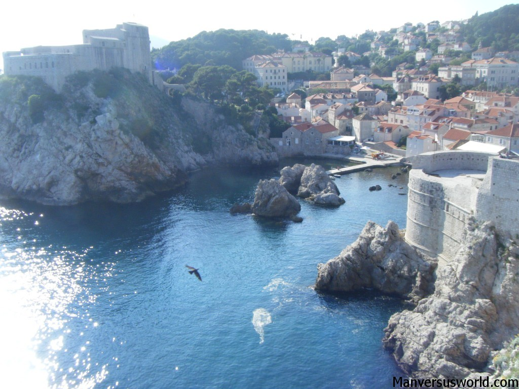 The fantastic view from Dubrovnik's walls