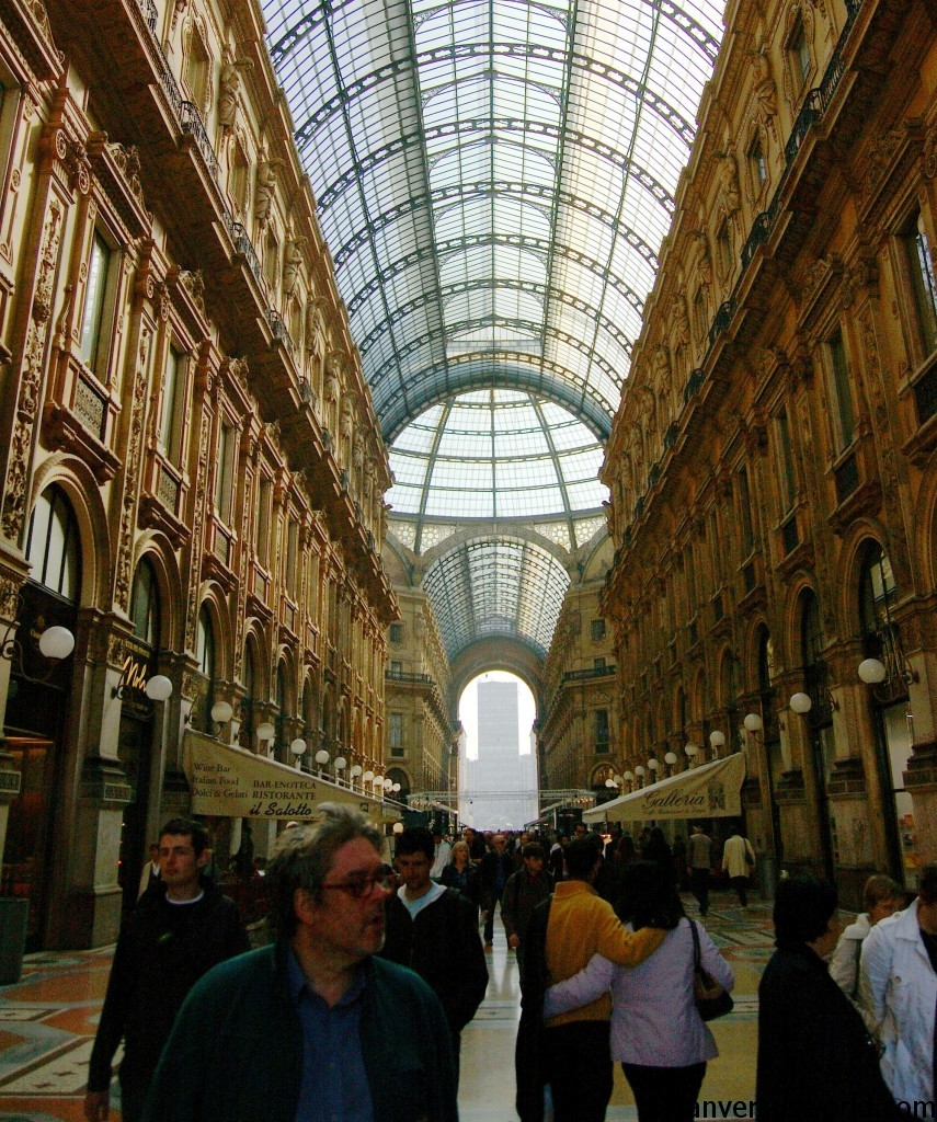 Fashionable Milan, Italy