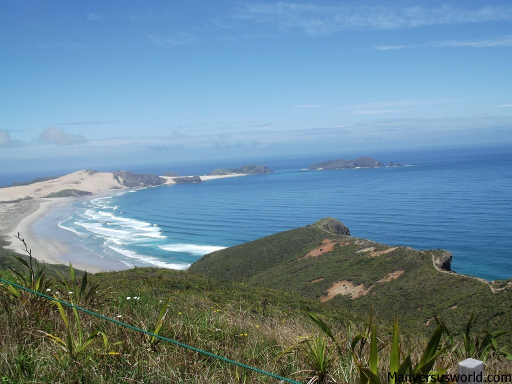 The view from Cape Reinga, Northland, New Zealand