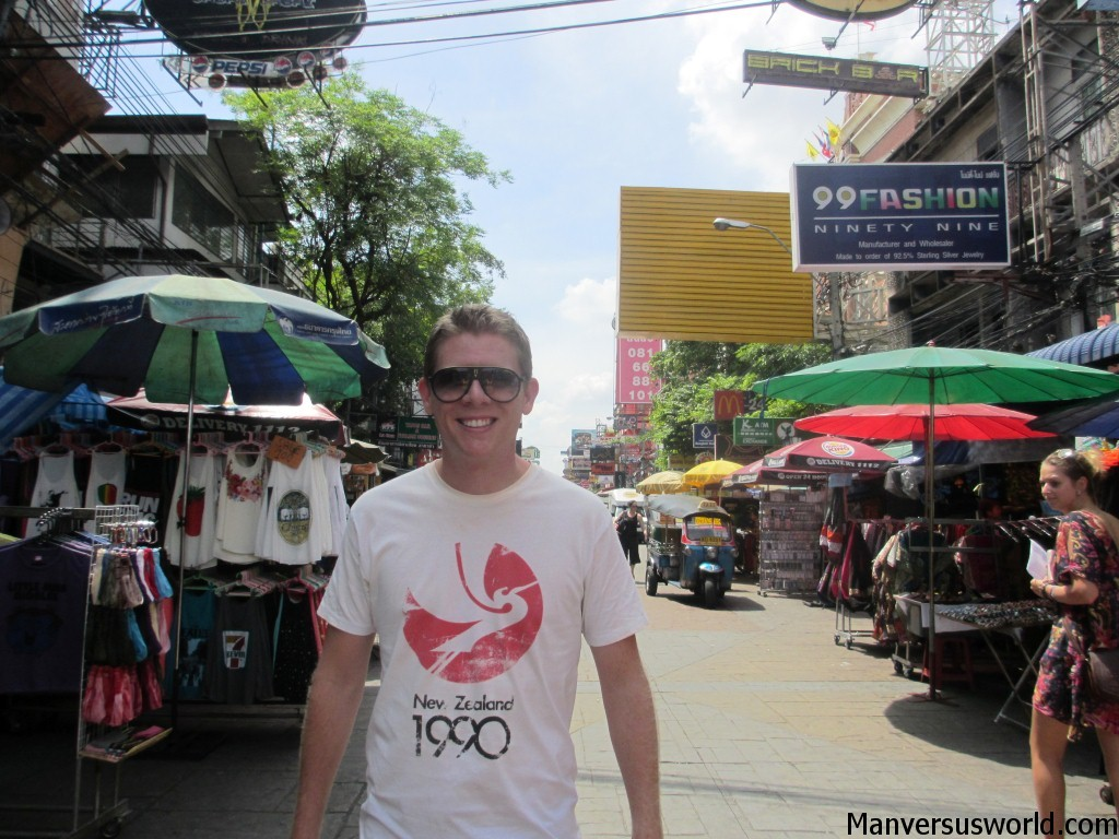 The Khao San Rd in Bangkok, Thailand