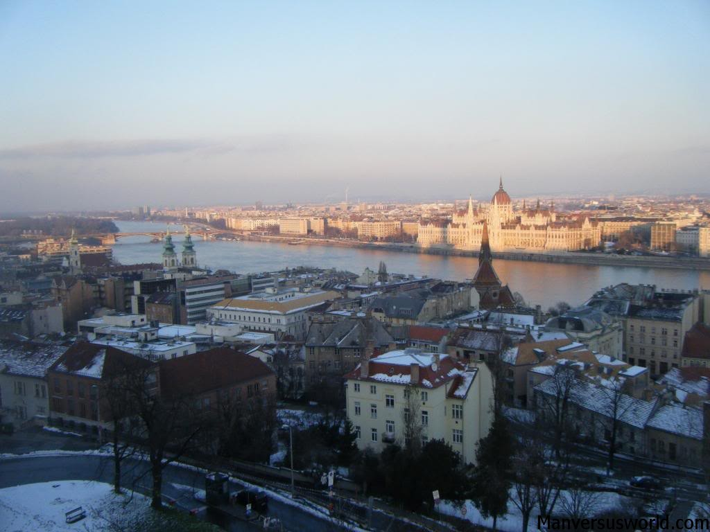 The view of Budapest, Hungary