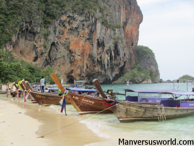 One of the many beautiful islands near Krabi, Thailand