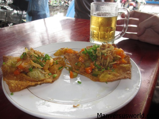 Delicious Hoi An wontons in Vietnam