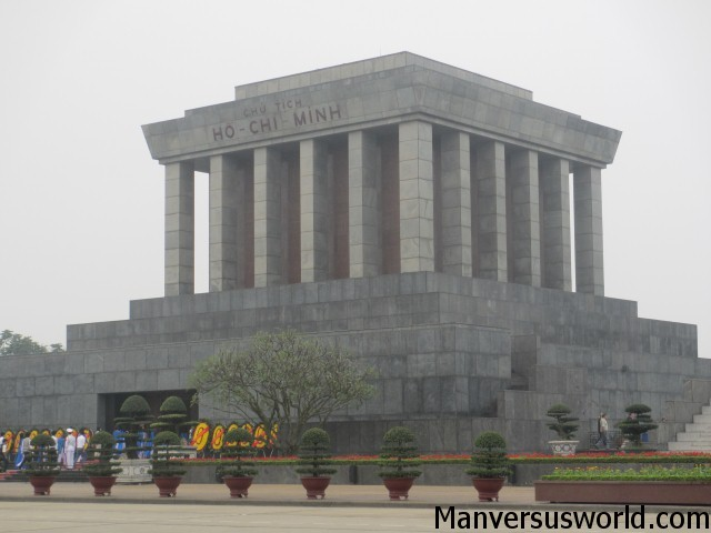 Ho Chi Minh's final resting place, Hanoi, Vietnam