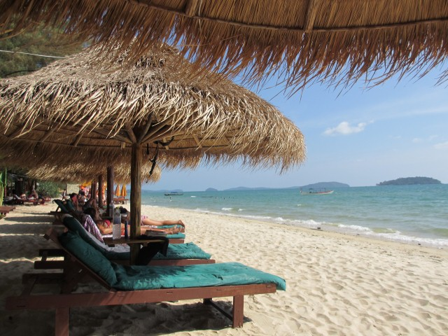 Just another beautiful beach in Asia - this time in Cambodia.