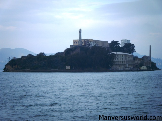 Infamous Alcatraz Island in San Francisco Bay
