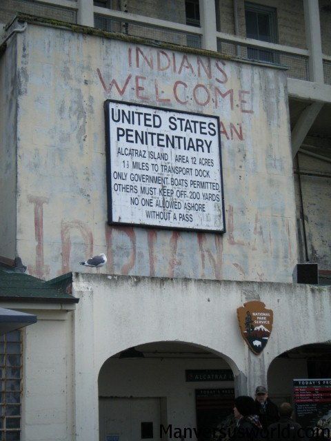 Alcatraz: the former US prison