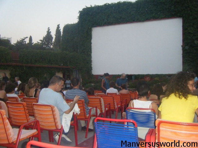 Cine Thisio in Athens, Greece