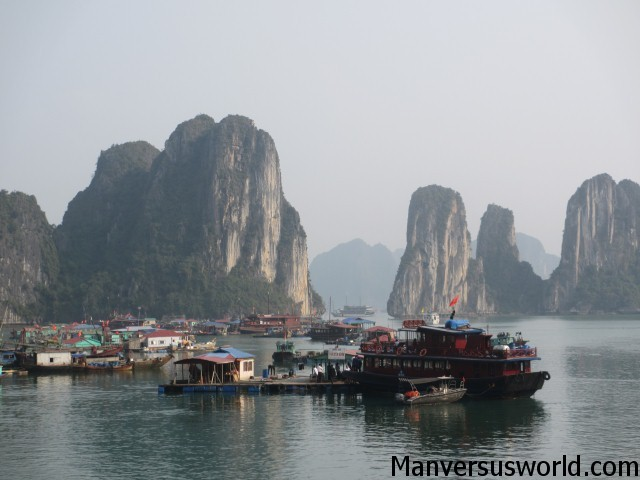 Ha Long Bay in Vietnam