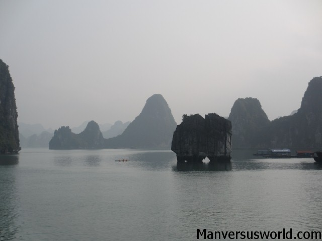 Another beautiful photo on Ha Long Bay