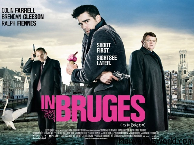 The In Bruges movie poster