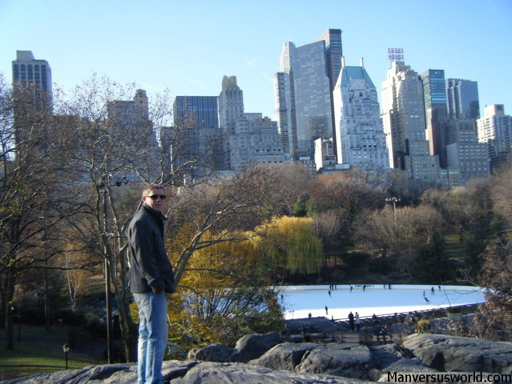 Me in Central Park, New York City