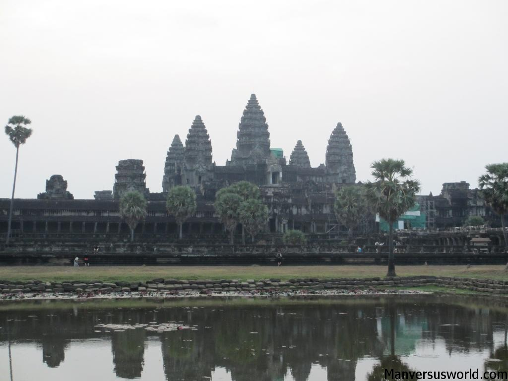Needs no description: Angkor Wat in Cambodia
