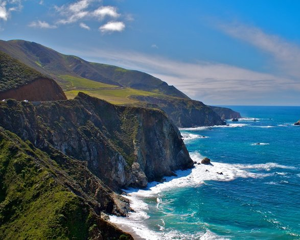 Scenery along the Pacific Coast Highway