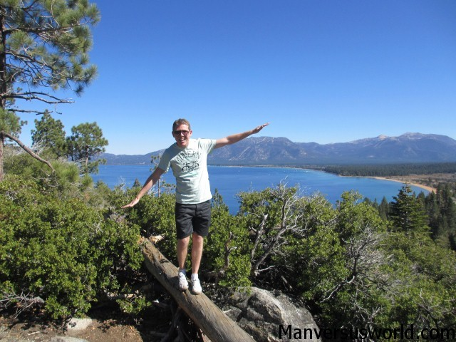 Monkeying around at Lake Tahoe, CA