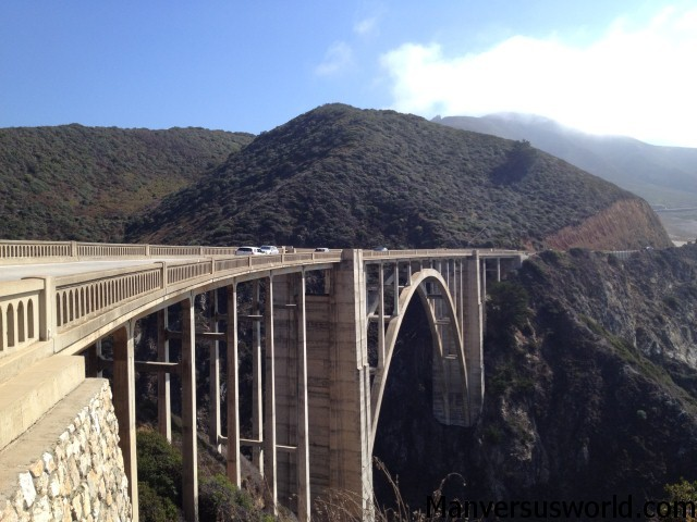 Big Sur's Bixby Creek Bridge is amazing