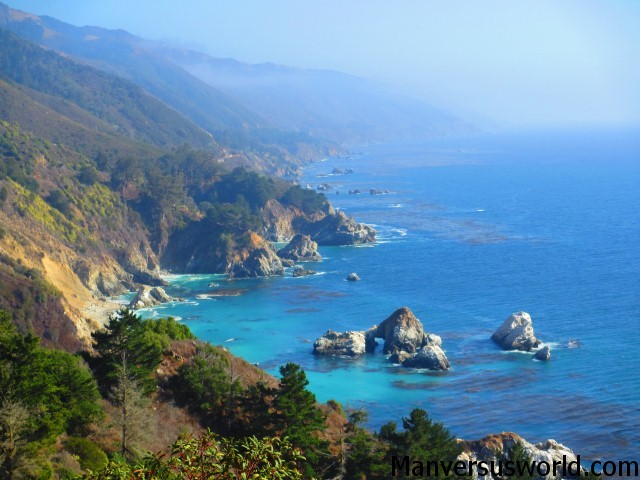 The view from the PCH at Big Sur, California
