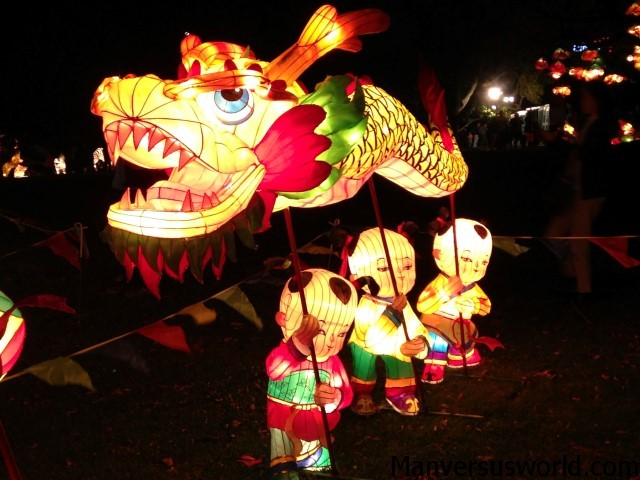 Auckland's Chinese Lantern Festival