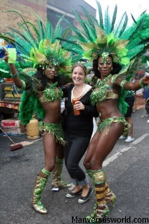 London's famous Notting Hill Carnival
