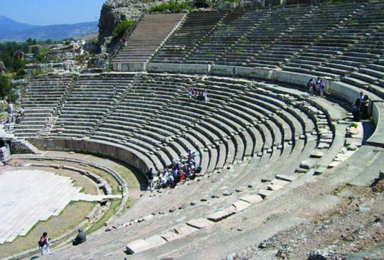 The Bodrum ampitheatre, Turkey