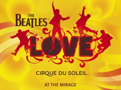 The Beatles LOVE Cirque Du Soleil in Las Vegas