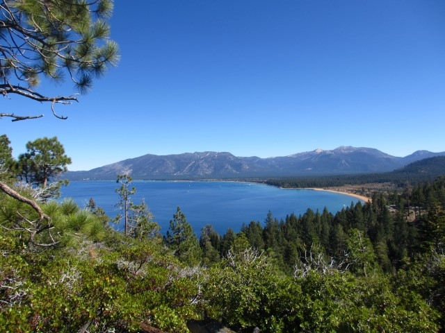 Visiting Lake Tahoe in the fall