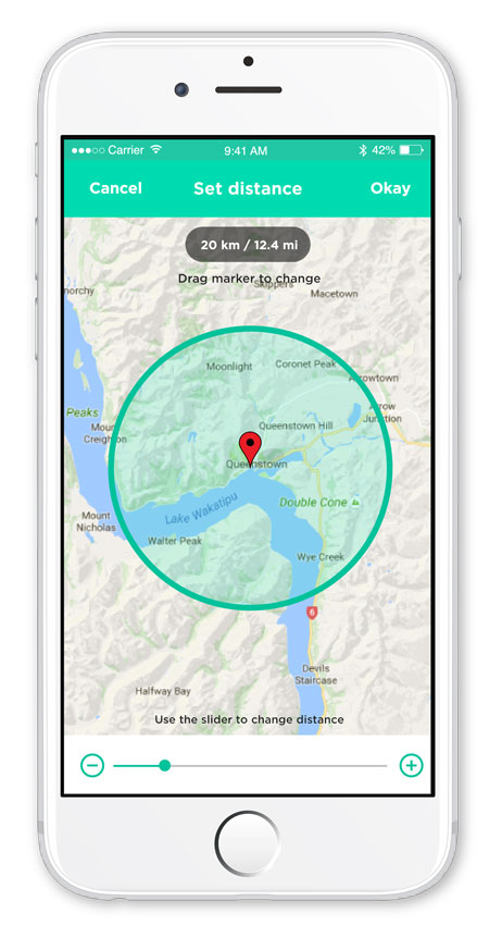 HerePin app review: connecting nearby travellers