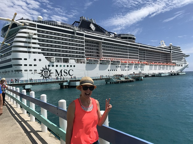 Cruising on the MSC Divina: highs and lows