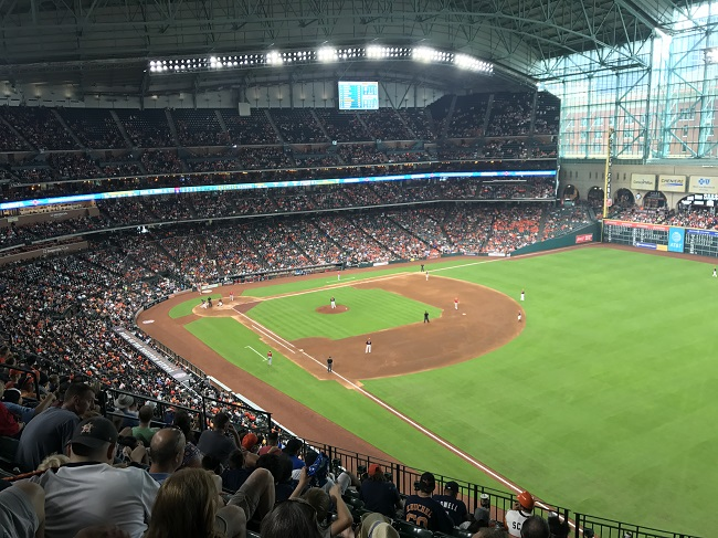My first MLB game #Houston #Astros
