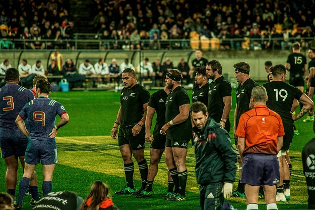 New Zealand vs France rugby