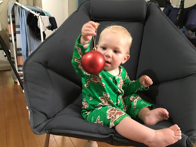 Shinesty Christmas onesie for babies