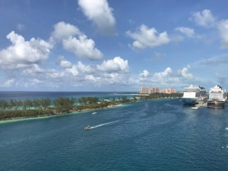 The Bahamas via cruise ship