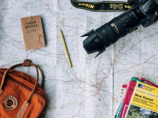 Map and other travel gear