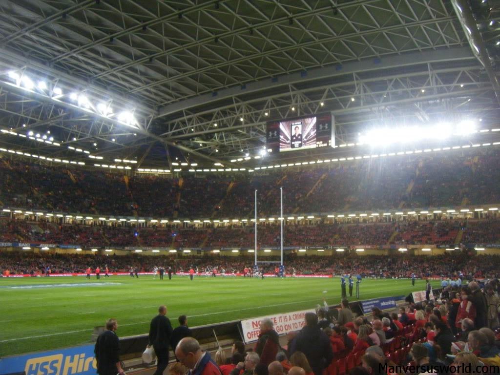 Cardiff's Milennium Stadium