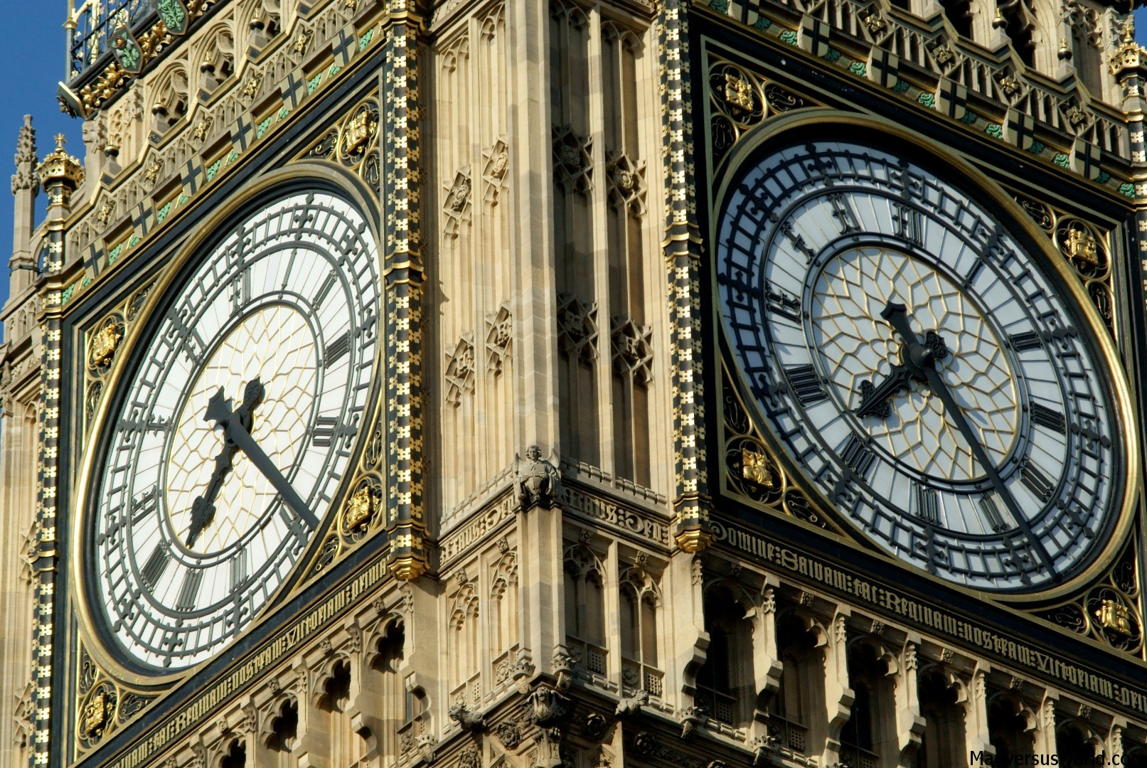 Big Ben up close