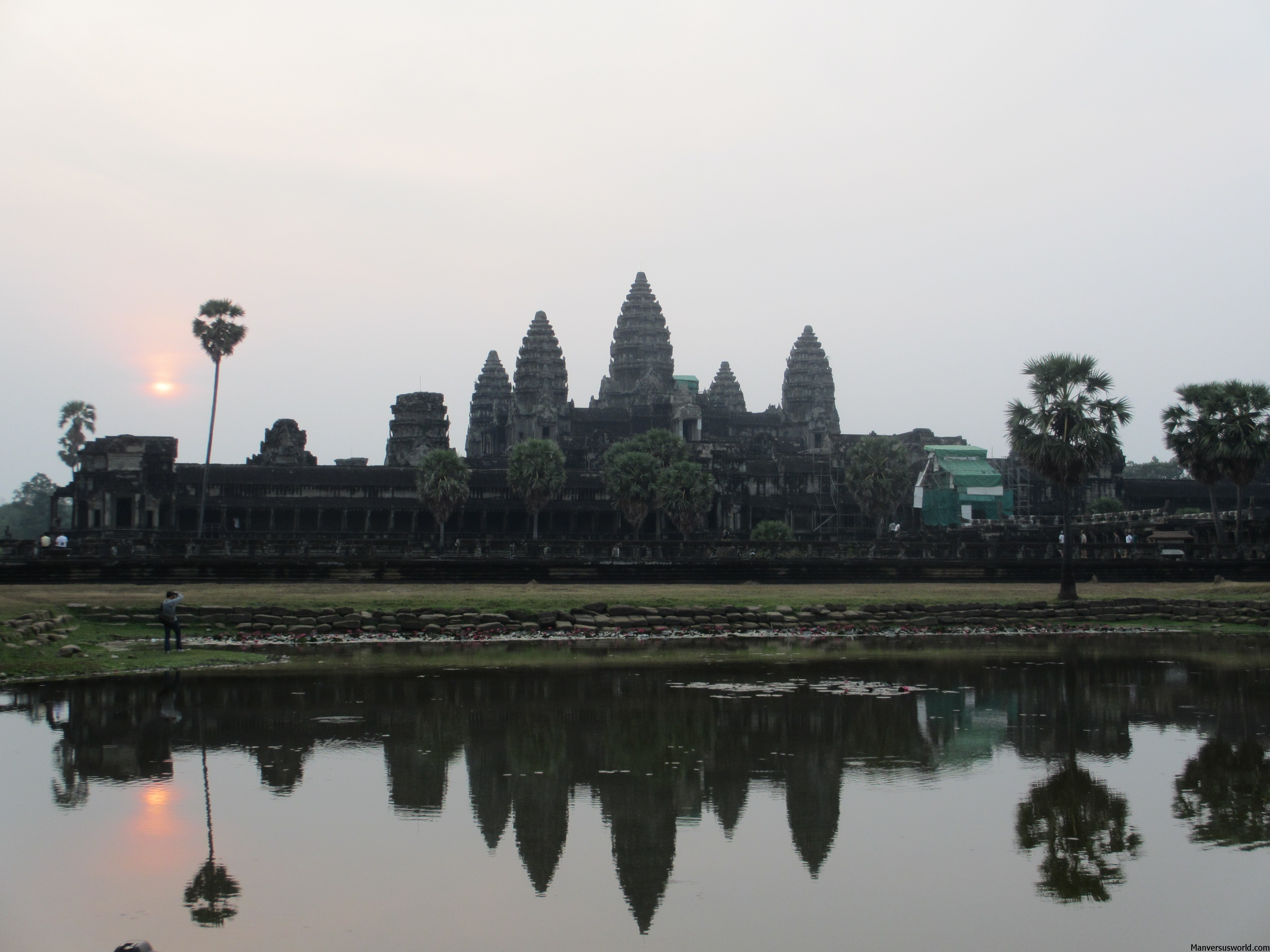 Angkor Wat at sun rise in all its glory